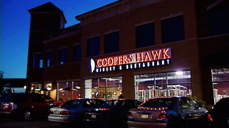 Cooper S Hawk Winery Orland Park Restaurants Check
