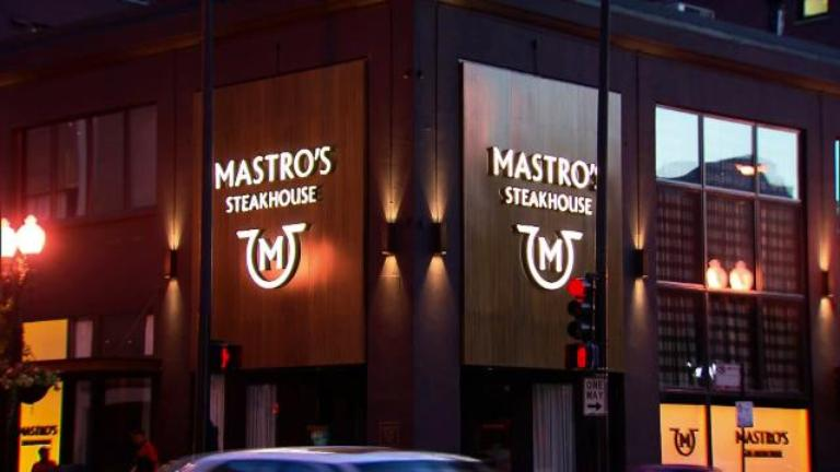 Mastro S Steakhouse Near North Restaurants Check