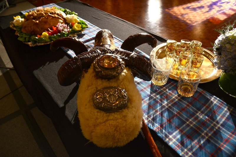 Haggis and Scotch
