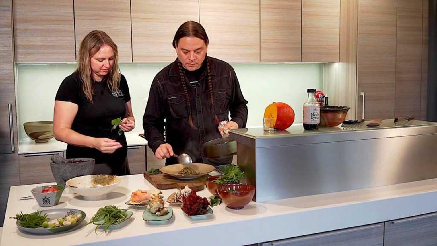 Sean Sherman, The Sioux Chef