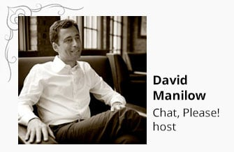 David Manilow — Chat, Please! Host