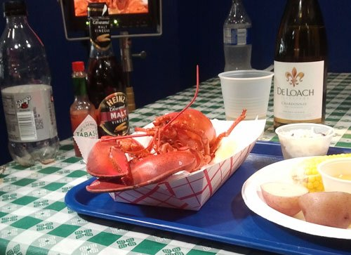 Lobster at New England Seafood Company
