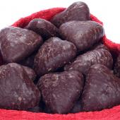 Chocolate Pave Hearts