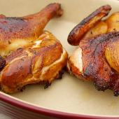 Rotisserie Smoked Chicken