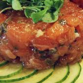 Salmon and Ahi Tuna Tartare