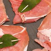 Saltinbocca (veal sauteed with sage and prosciutto)
