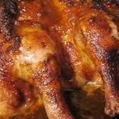 Seared Organic Chicken with Brioche Dressing