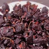 Sun-Dried Cherry Glazed Grilled Salmon with Roesti Potato