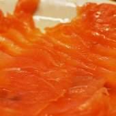 Tuna Tartare Wrapped in Smoked Salmon