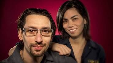 Adrienne Lo and Abraham Conlon