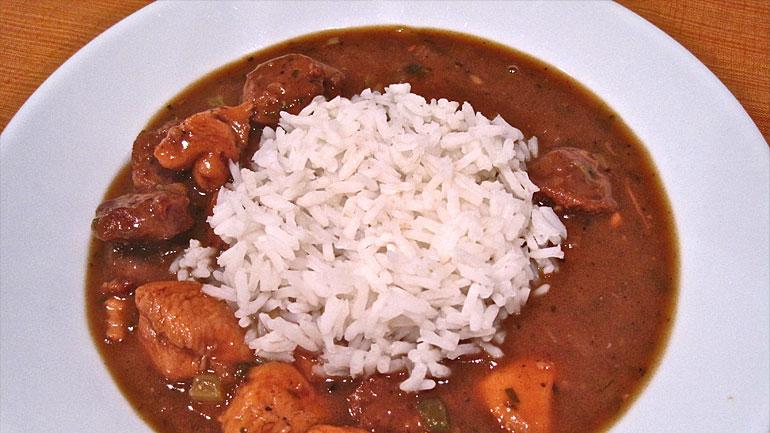Chicken and Sausage Gumbo | Recipes | Check, Please! | WTTW