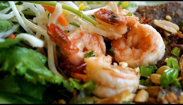 Grilled Shrimp Vietnamese Rice Paper Roll