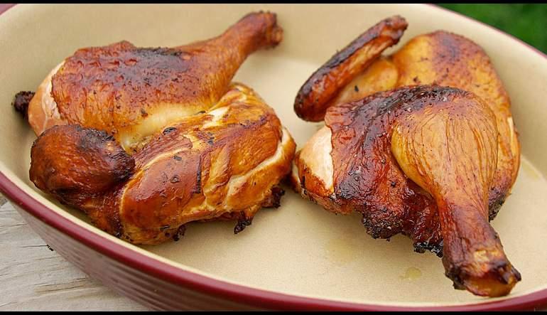 Rotisserie Smoked Chicken