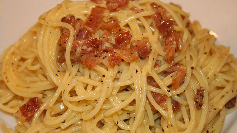 Spaghetti Carbonara Recipes Check Please Wttw Chicago